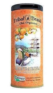 Tribal Brasil Chá de Erva Mate Mandarina com Especiarias Orgânico Lata 30 Sachês
