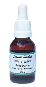 Jaci Natural Sérum Facial Argan e Olíbano - Pele Oleosa 30ml
