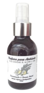 Jaci Natural Perfume para Ambiente Alecrim e Limão - Concentração e Clareza 100ml