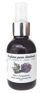 Jaci Natural Perfume para Ambiente Lavanda e Cipreste - Paz e Tranquilidade 100ml