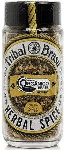 Herbal Spice - Condimento Misto Orgânico 34g - Tribal
