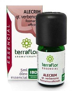 Terra Flor Óleo Essencial de Alecrim qt Verbenona 5ml