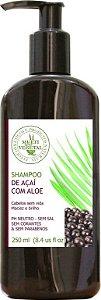 Multi Vegetal Shampoo de Açaí com Aloe Vera 250ml