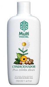 Multi Vegetal Condicionador de Camomila, Trigo e Calêndula Cabelos Claros 240ml