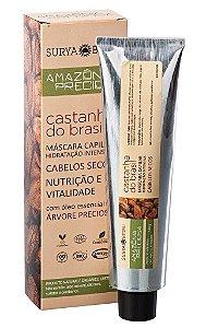 Surya Brasil Amazônia Preciosa Castanha do Brasil Máscara Capilar Hidratação Intensiva 120g