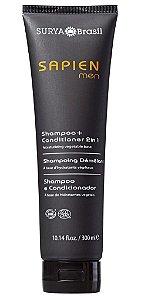 Surya Brasil Sapien Men Shampoo e Condicionador 2 em 1 300ml