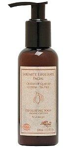 Arte dos Aromas Sabonete Líquido Esfoliante Facial Copaíba e Tea Tree 110ml