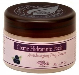 Creme Hidratante Facial Açaí com Babosa 50g - Arte dos Aromas