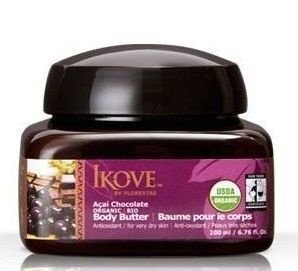 Ikove Manteiga Corporal Açaí e Chocolate 200ml