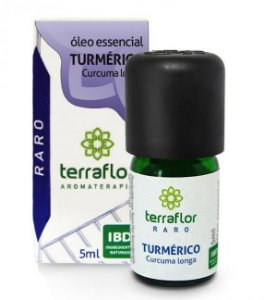 Terra Flor Óleo Essencial de Turmérico 5ml