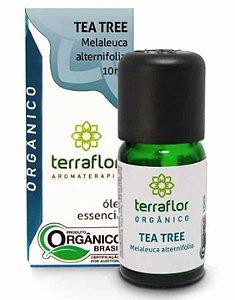Terra Flor Óleo Essencial de Tea Tree Orgânico 10ml