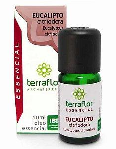 Terra Flor Óleo Essencial de Eucalipto Citriodora 10ml