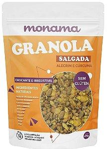 Monama Granola Salgada com Alecrim e Cúrcuma 200g