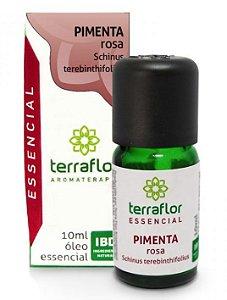 Terra Flor Óleo Essencial de Pimenta Rosa 10ml