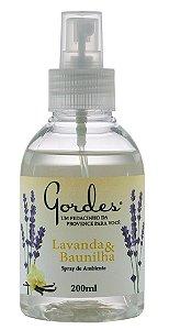 Gordes Lavanda e Baunilha Spray de Ambiente 200ml