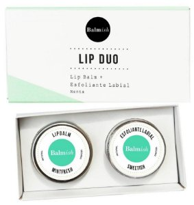 Balmish Lip Duo - Kit com Esfoliante Labial + Lip Balm Hidratante