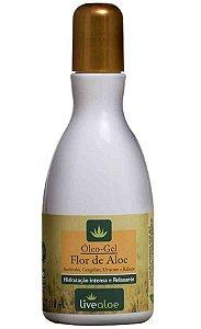 Livealoe Óleo Gel Flor de Aloe - Hidratante Bifásico