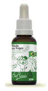 Bio Florais Pet Medo de Fogos 37ml