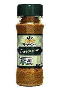 Kampo de Ervas Cúrcuma Condimento Puro Orgânico 50g