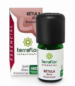 Terra Flor Óleo Essencial de Bétula Doce 5ml