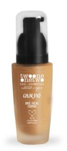 Twoone Onetwo Base Facial Líquida Color Fix - Cor 03 (Sand Beige) 40g