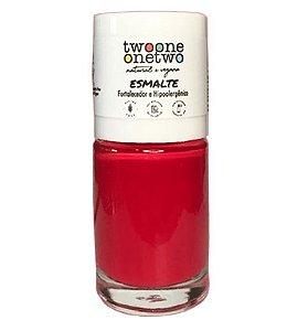 Twoone Onetwo Esmalte Hipoalergênico 1624 Poppy Red 10ml
