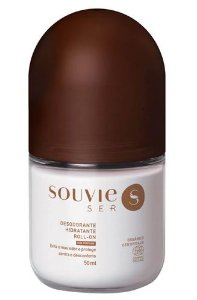 Souvie Ser+ Desodorante Hidratante Sem Perfume Roll-on 50ml