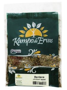 Kampo de Ervas Chá de Bardana Orgânico Fracionado 30g