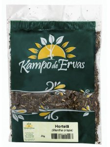 Kampo de Ervas Chá de Hortelã Fracionado 30g