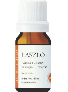 Laszlo Óleo Essencial de Sálvia Triloba (CO2-TO) 10,1ml