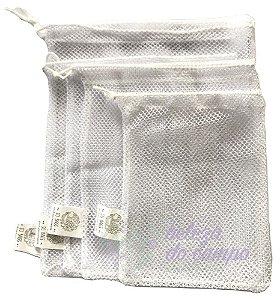 So Bags Zero Waste Kit Feirinha - Saco de Tela em Rede 4 un