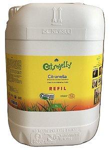 WNF Citrojelly Refil - Repelente de Citronela para Ambiente Orgânico Galão 5L
