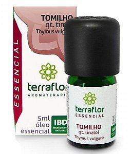 Terra Flor Óleo Essencial de Tomilho QT Linalol 5ml