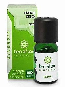 Terra Flor Sinergia Detox com Óleos Essenciais 10ml