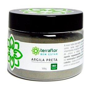 Terra Flor Argila Preta 300g