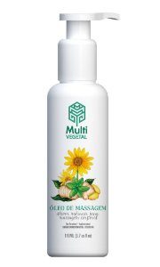 Multi Vegetal Óleo de Massagem Gengibre e Arnica 110ml