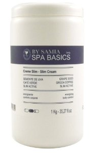 By Samia Spa Basic Creme Slim Emagrecedor