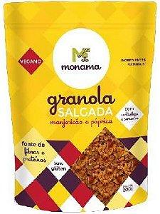 Monama Granola Salgada com Manjericão e Páprica 200g
