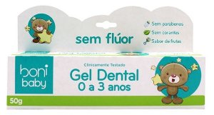 Boni Natural Baby Gel Dental Sabor Frutas 50g