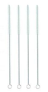 Beegreen Kit 4 Escovas Higiênicas de Limpeza Para Canudos