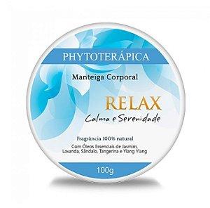 Phytoterápica Manteiga Corporal Relax - Calma e Serenidade 100g