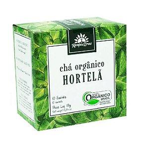 Kampo de Ervas Chá de Hortelã Orgânico Caixa 10 Sachês