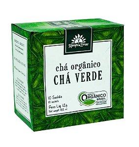 Kampo de Ervas Chá Verde Orgânico Caixa 10 Sachês