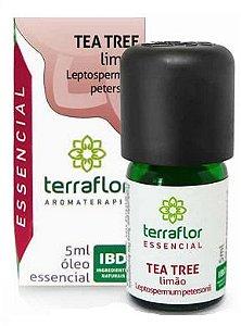 Terra Flor Óleo Essencial de Tea Tree Limão 5ml