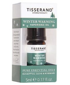 Tisserand Winter Warming Vaporising Oil Sinergia de Óleos Essenciais 5ml