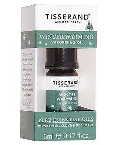 Tisserand Winter Warming Vaporising Oil Sinergia de Óleos Essenciais 5ml