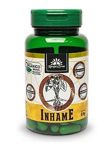 Kampo de Ervas Inhame Orgânico (500mg) - 100 Cápsulas Veganas