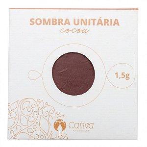 Cativa Natureza Sombra Unitária Refil Cocoa 1,5g