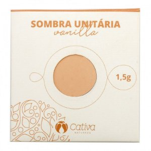 Cativa Natureza Sombra Unitária Refil Vanilla 1,5g