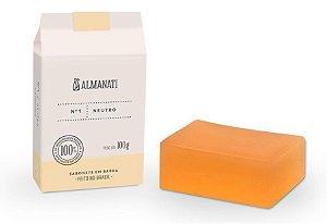 Almanati Sabonete em Barra Neutro 100g